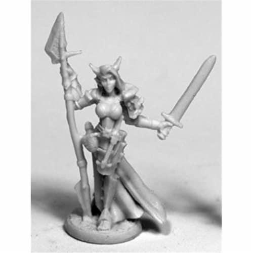 Reaper Miniatures REM77488 28 mm Dark Heaven Bones Skara, Female Skoli W3 Pack Mint of Miniat Perspective: front