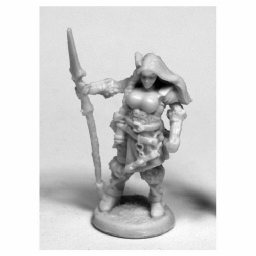 Reaper Miniatures REM77489 28 mm Dark Heaven Bones Bregan, Valkyrie W3 Pack Mint of Miniature Perspective: front