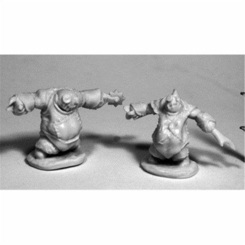 Reaper Miniatures REM77500 28 mm Dark Heaven Bones Lesser Stitch Golems W3 Pack Mint of Minia Perspective: front