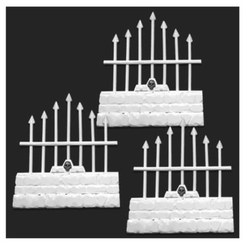 Reaper Miniatures REM77530 Bones - Graveyard Short Fences Miniatures - Set of 3 Perspective: front