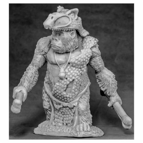 Reaper Miniatures REM77589 Bones - Avatar of Honor - Gorilla W3 Perspective: front