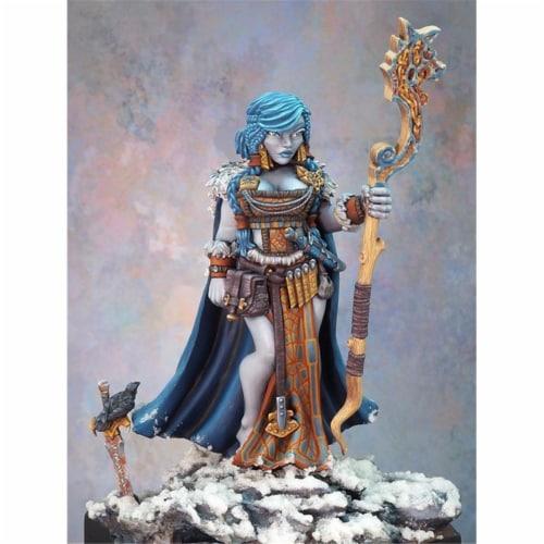 Reaper Miniatures REM77592 Bones Dark Heaven - Frost Giant Queen W3 Perspective: front