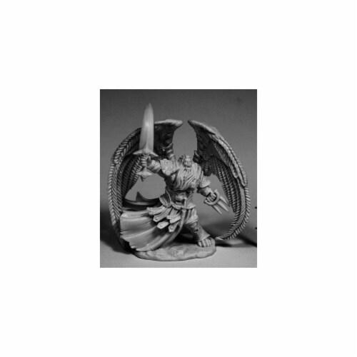 Reaper Miniatures REM77594 28 mm Dark Heaven Bones Solar, Angel W3 Pack Mint of Miniature Gam Perspective: front
