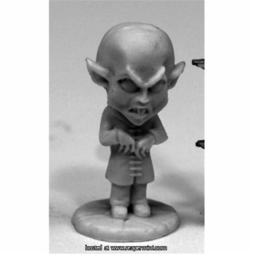 Reaper Miniatures REM77600 25mm Scale Bonesylvanians, Max - Bob Ridolfi Perspective: front