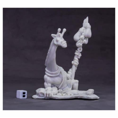 Reaper Miniatures REM77622 Bones Avatar of Wisdom Giraffe W3 Miniatures Perspective: front