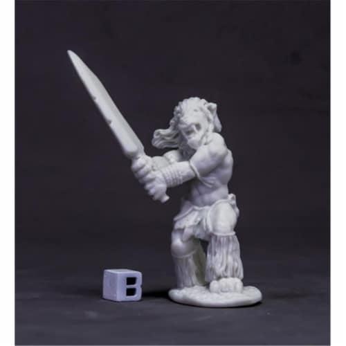 Reaper Miniatures REM77623 Bones Dark Heaven - Avatar of Courage, Lion W3 Perspective: front