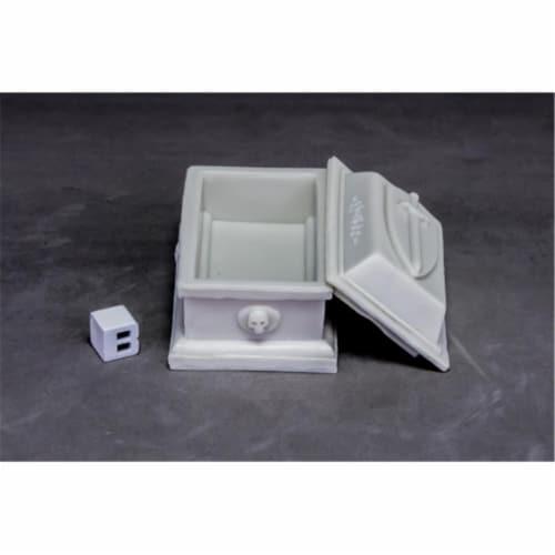Reaper Miniatures REM77632 Bones Dark Heaven - Sarcophagus W3 Perspective: front