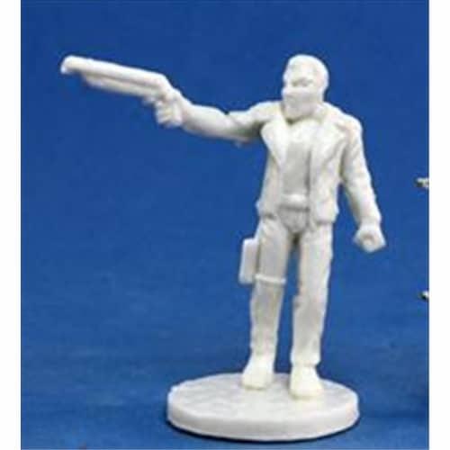 Reaper Miniatures 80009 Bones - Chrono Rex, Dark Future Hero Perspective: front