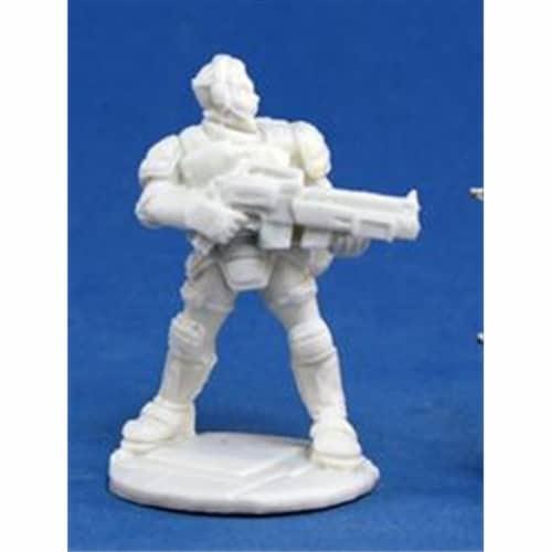 Reaper Miniatures 80014 Bones - Chrono Garvin Markus, Nova Hero Perspective: front