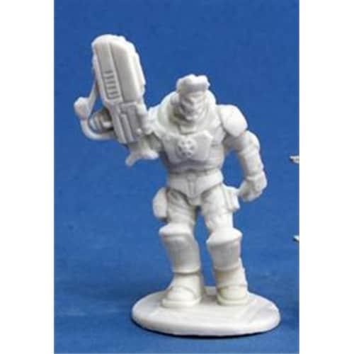 Reaper Miniatures 80016 Bones - Imef Nick Stone 1 Miniature Perspective: front