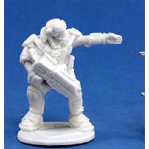 Reaper Miniatures 80020 Bones - Chrono Imef Erik Proudfoot 1 Miniature Perspective: front