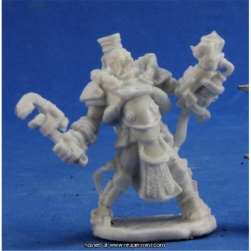 Reaper Miniatures REM80031 25mm Scale Decker Lugstampf, Ben Siens - Bones & Chronoscope Perspective: front