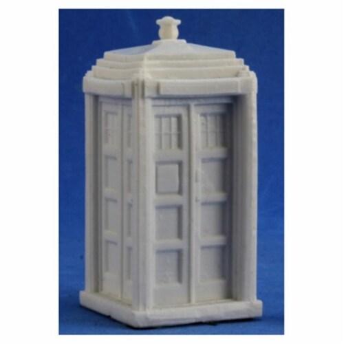 Reaper Miniatures REM80037 Bones-Chrono Telephone Box Perspective: front