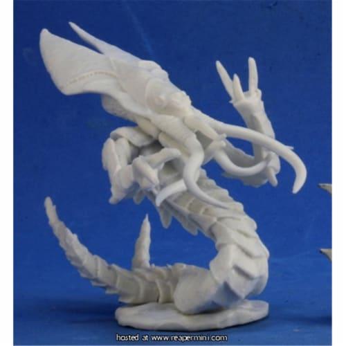 Reaper Miniatures REM80040 25mm Scale Bathalian Primarch, Kevin Williams - Bones & Chronoscop Perspective: front