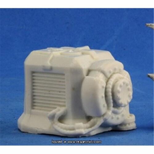Reaper REM80053 Bones Starship Generator Miniature Figures Perspective: front
