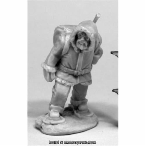 Reaper Miniatures REM80072 25mm Scale Antarctic Explorer, James Van Schaik - Bones & Chronosc Perspective: front