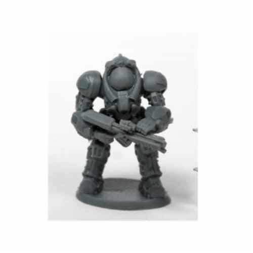 Reaper Miniatures REM80077 Bones Chronoscope Blackstar Corsair 2 Miniature Figure Perspective: front