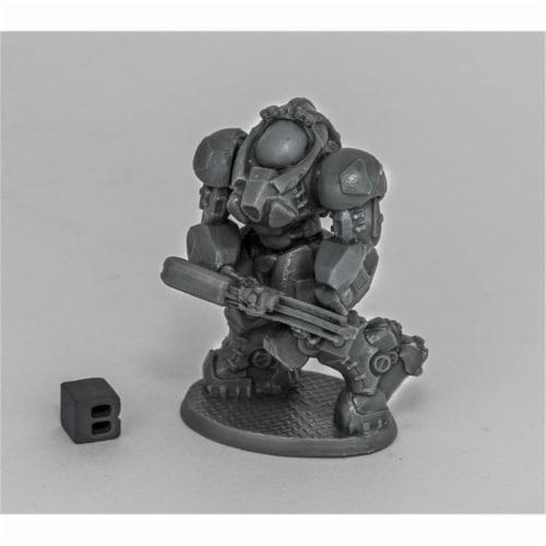 Reaper Miniatures REM80079 Bones Dark Heaven - Chrono-Blackstar Corsair Delta W3 Perspective: front