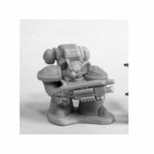 Reaper Miniatures REM80083 Bones Chronoscope Space Mousling Look Miniature Figure, Right Perspective: front