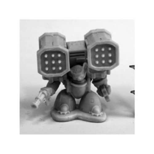 Reaper Miniatures REM80085 Bones Chronoscope Space Mousling Heavy Miniature Figure Perspective: front