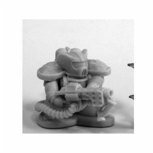 Reaper Miniatures REM80086 Bones Chronoscope Space Mousling Flamer Miniature Figure Perspective: front