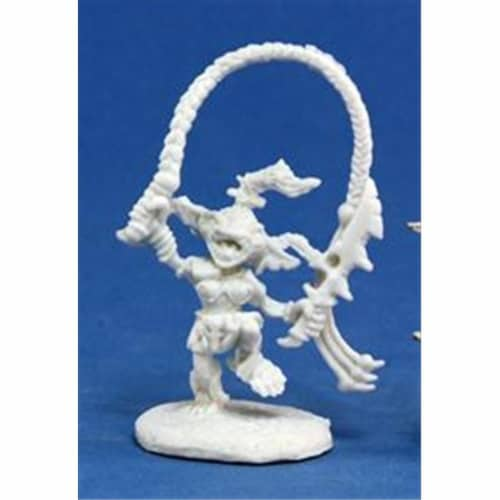 Reaper Miniatures 89004 Bones - Path Finder Goblin Warchanter Miniature Perspective: front