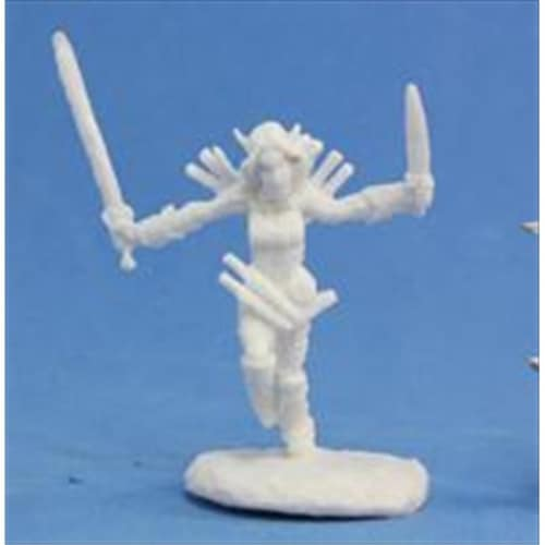 Reaper Miniatures 89009 Bones - Path Finder Merisiel, Iconic Rogue Miniature Perspective: front