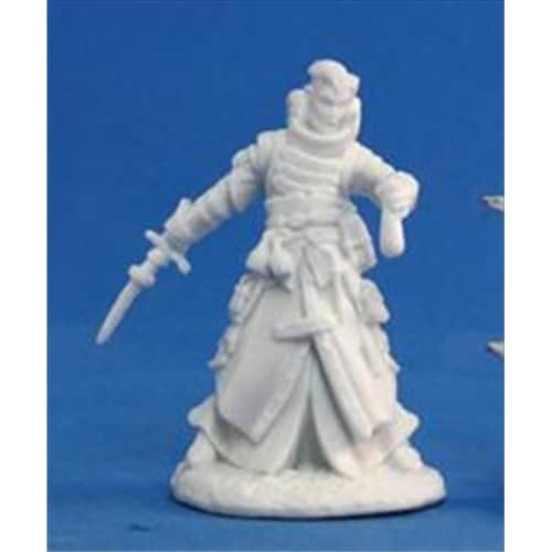 Reaper Miniatures 89010 Bones - Path Finder Damiel, Iconic Alchemist Miniature Perspective: front