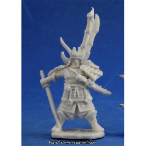 Reaper Miniatures REM89019 25mm Scale Nakayama Hayato Iconic Samurai, Bobby Jackson - Pathfin Perspective: front