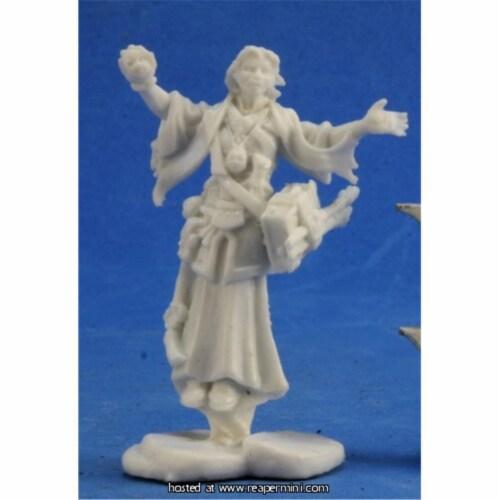 Reaper Miniatures REM89021 25mm Scale Mystic Theurge, Bob Ridolfi - Pathfinder Bones Perspective: front