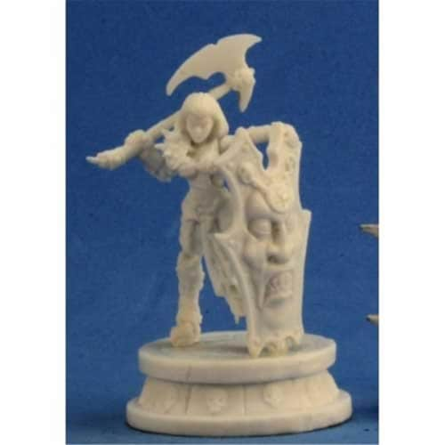 Reaper Miniatures REM89032 Anti Paladin Miniature Reaper Perspective: front