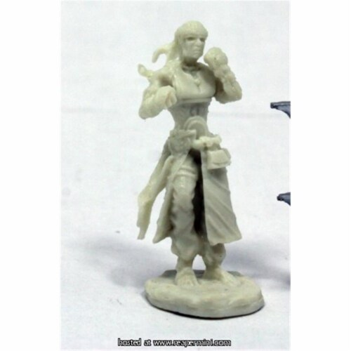 Reaper Miniatures REM89035 25mm Scale Brotherhood of The Seal, Bobby Jackson - Pathfinder Bon Perspective: front