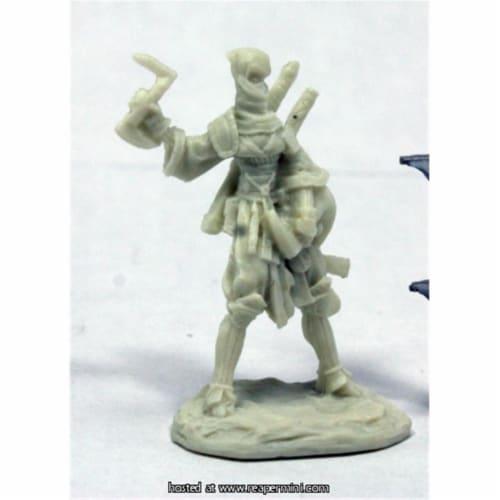 Reaper Miniatures REM89036 25mm Scale Reiko Iconic Ninja, Bobby Jackson - Pathfinder Bones Perspective: front