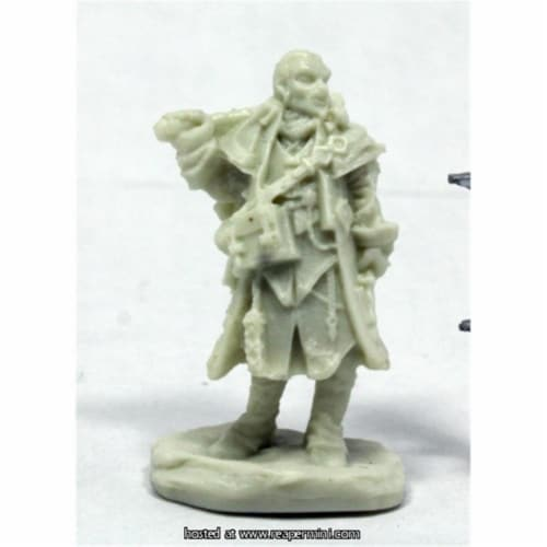 Reaper Miniatures REM89037 25mm Scale Quinn Iconic Investigator, Bobby Jackson - Pathfinder B Perspective: front