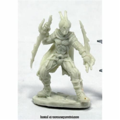 Reaper Miniatures REM89042 25mm Scale Red Mantis Assassin, Patrick Keith - Pathfinder Bones Perspective: front