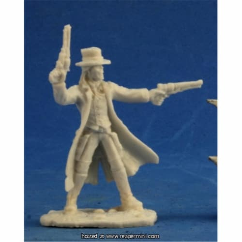 Reaper Miniatures REM91001 25mm Scale Stone, Bob Ridolfl - Savage Worlds & Bones Perspective: front