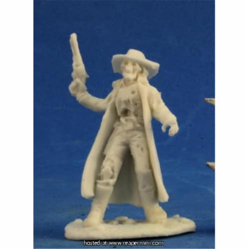 Reaper Miniatures REM91005 25mm Scale Undead Outlaw, Bob Ridolfl - Savage Worlds & Bones Perspective: front