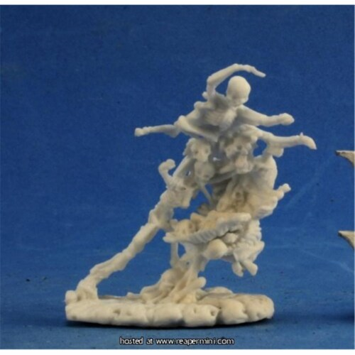 Reaper Miniatures REM91007 25mm Scale Bone Fiend - Savage Worlds & Bones Perspective: front