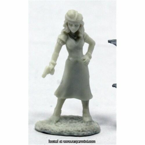 Reaper Miniatures REM91011 25mm Scale Deadlands Noir Femme Fatale, Bob Ridolfi - Savage World Perspective: front