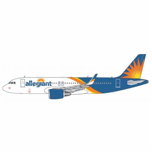 Gemini200 G2AAY664 1 by 200 Allegiant A320S New Livery Model Jet Perspective: front