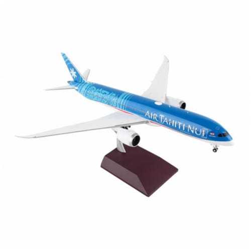 Gemini200 G2THT749 Air Tahiti 787-9 1-200 New Livery Reg No. F-ONUI Diecast Airplane Model Perspective: front