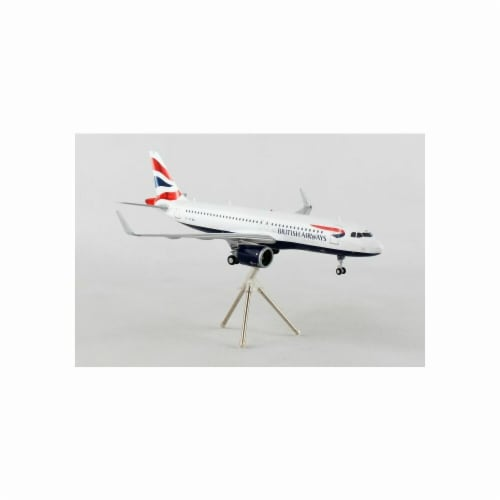 Gemini200 G2BAW755 British A320NEO 1-200 Reg No. G-TTNA Diecast Airplane Model Perspective: front
