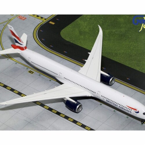 Gemini200 G2BAW784 British Airways Airbus A350-1000 Scale 1 by 200 Reg No. G-XWBA Perspective: front
