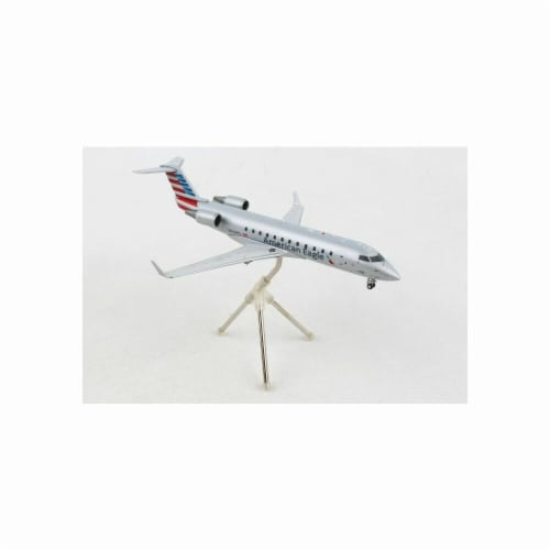 Gemini200 G2AAL794 American Eagle CRJ200 Scale 1 by 200 New Livery Reg No. N230PS Perspective: front