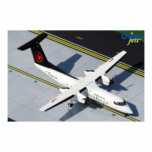 Gemini200 G2ACA851 1 by 200 Scale Air Canada Bombardier Dash 8 Q-300 C-FRUZ Die-Cast Metal Mo Perspective: front
