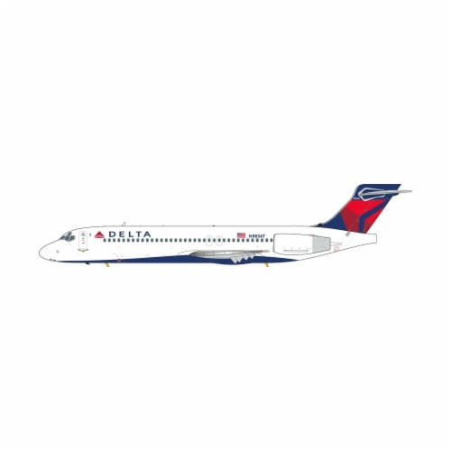 Gemini200 G2DAL876 Delta Boeing 717 N965AT Scale 1-200 Aircraft Model Toys Perspective: front