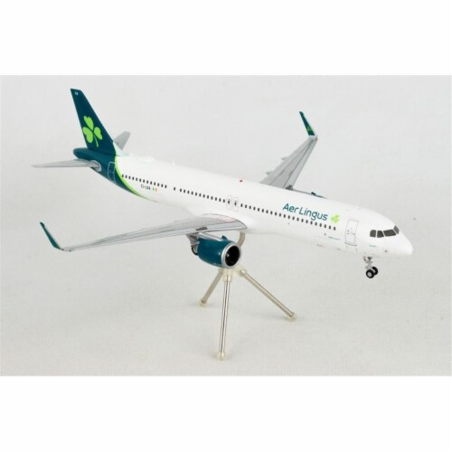 Gemini200 G2EIN884 AER Lingus A321NEO 1-200 2019 Livery Reg No. Ei-Lra Aircraft Perspective: front