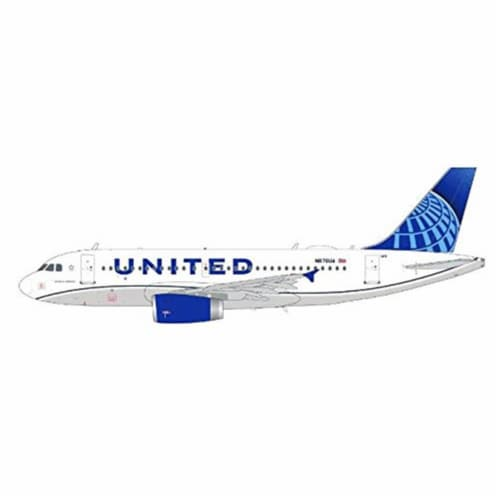 Gemini200 G2UAL891 United Airlines Airbus A319 N876UA New Livery Scale 1-200 Aircraft Model T Perspective: front