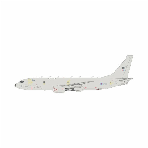 Gemini200 G2RAF899 RAF Royal Air Force Poseidon P-8 ZP801 Raked Wingtips Scale 1-200 Diecast Perspective: front