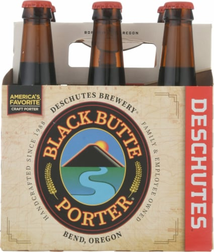 Deschutes Brewery Black Butte Porter Beer Perspective: front